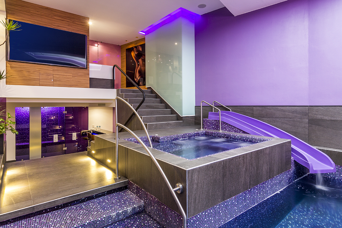 Eventos v for Motel con piscina privada