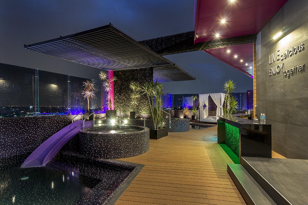 V eventos for Motel con piscina privada